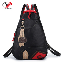 Buy New Fashion Multifunctional Waterproof Leather Softback Women's Travel Backpack Lassel Ladies Chest Pack Sling Shoulder Bag for $19.00 in AliExpress store