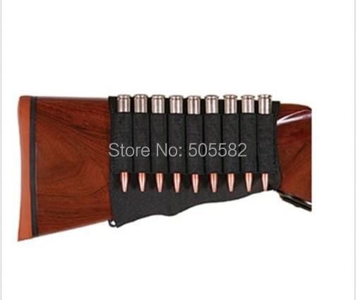 Allen Rifle Buttstock Cartridge Holder Elastic Loops Fits Snug Holds 9 round 206
