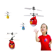 Hot sale RC helicopter Flying Saucer Birds toys Infrared Induction boy toys RC Helicoptero Remote Control toys Drones kids toys