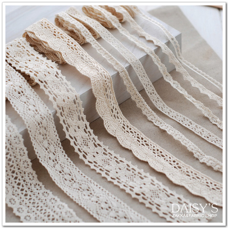 Clothg textiles lace sell like hot cakes Hand-made cotton sofa curta tablecloth lace DIY accessory(China (Mainland))