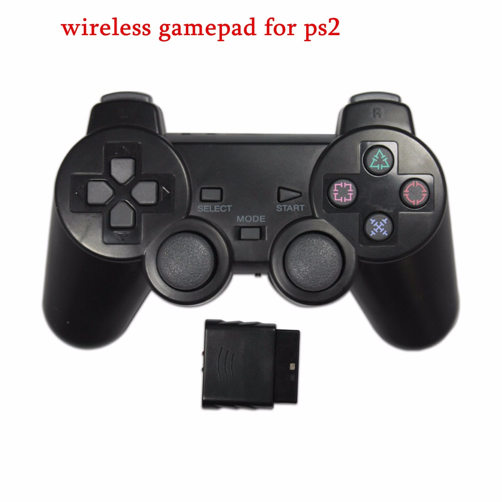 2.4G Wireless game gamepad joystick for PS2 controller Sony playstation 2 console dualshock gaming joypad for PS play station 2(China (Mainland))