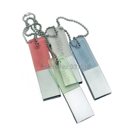 New Crystal jewelry usb flash drives,3D Laser logo Crystal USB 2.0 pen drive with LED light 4gb/8gb/16gb/32gb 200pcs/lot(China (Mainland))