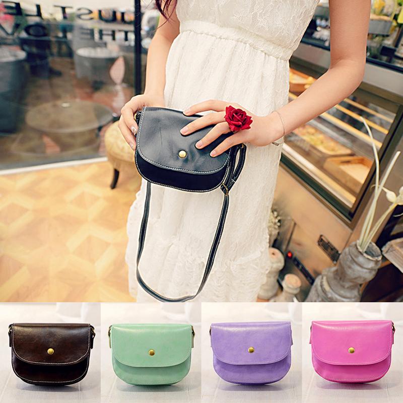 New Women Shoulder Crossbody Sexy Fashion Messenger PU Leather Satchel Purse Tote Hobo Handbags Bag