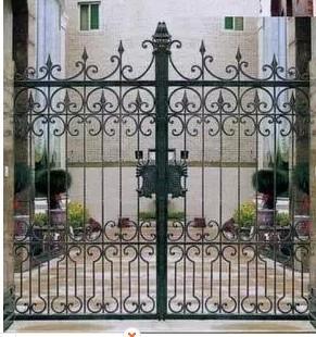 Creative Wrought Iron Patio Doors Wickets Garden Gate Iron