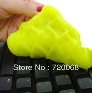 free shipping 2013 new Magic universal clean plastic magic dust plastic keyboard cleaner dust and mud  5pcs/lot