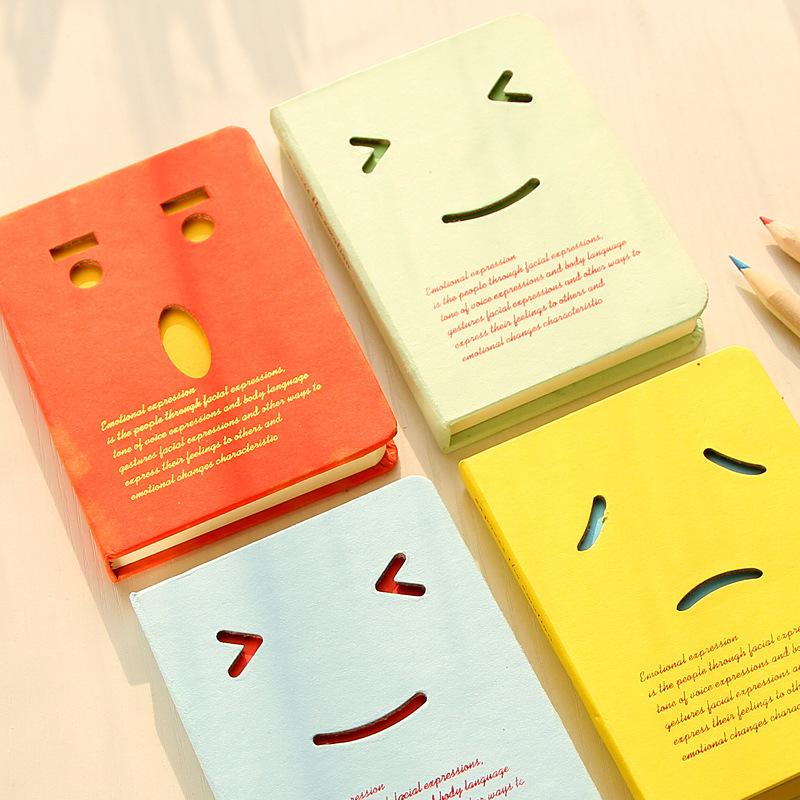 Aliexpress.com Comprar Envío gratuito agendas valor creativos retro diario bobina sonrisa cuaderno cuaderno de dibujo libro de graffiti kawaii school