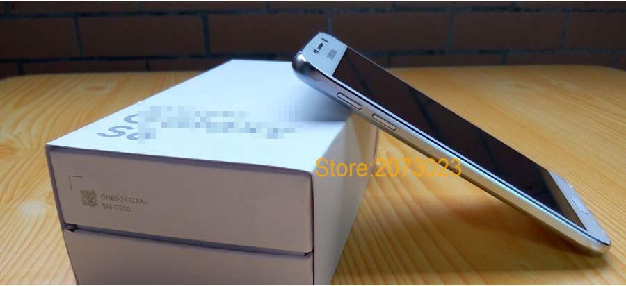 Case add Tempered Glass Film Free for Samsung Galaxy S6 Phone Unlock Smartphone MTK6592 Octa Core 3G RAM 64GB SD Original Logo