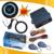 RFID immobilizer &push start/stop system with remote start stop engine keyless entry car engine slim engine start button