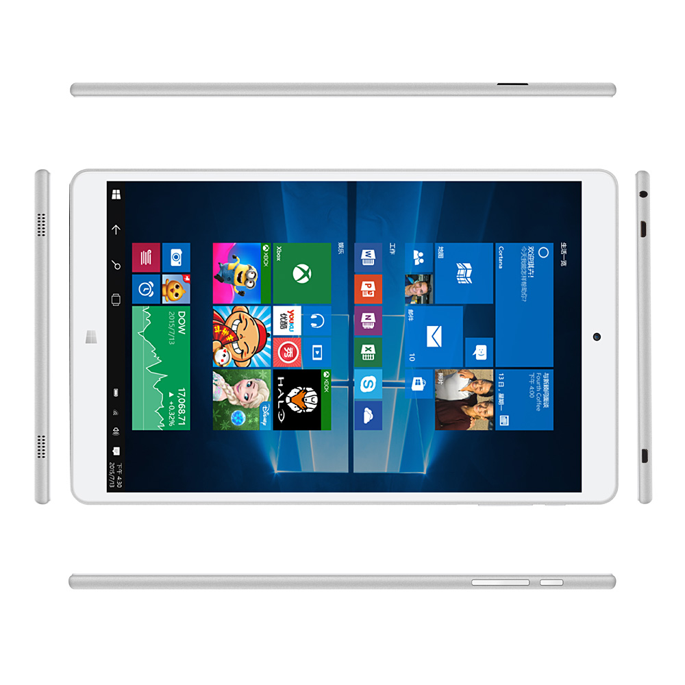 Teclast X80 Power 8 inch Intel Dual OS Windows 10 Android 5.1 Uitra Thin Tablet PC Cherry Trail X5 Z8300 Quad Core 32GB ROM(China (Mainland))