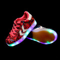KIDS Sneakers Boys Girls Sport Shoes Led Shoes Breathable USB Charging Chaussure LED Enfant