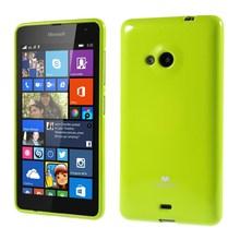 2015 New Mercury for Microsoft Lumia 535 GOOSPERY Jelly Glitter Powder Jelly TPU Gel Phone Case for Nokia Lumia 535 Dual SIM(China (Mainland))