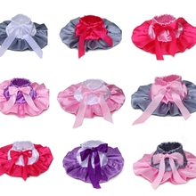 Baby infant girls satin bow tutu skirt many colors ball gown pettiskirt patchwork skirts 0-18Mo baby Photography skirt(China (Mainland))