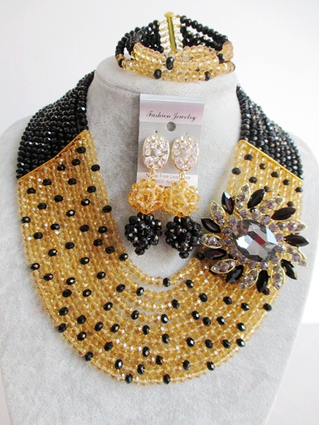 2015 new Fashion african beads Jewelry set crystal beads necklace set nigerian wedding african jewelry set free shipping WI-2672<br><br>Aliexpress