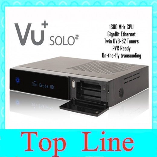 NEW solo 2 Original Software twin tuner Satellite Receiver /DVB solo in high quality(China (Mainland))