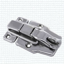 free shipping metal hasp 6418 alloy air box lock hardware box clasp tool box buckle Luggage accessories supply wooden box lock