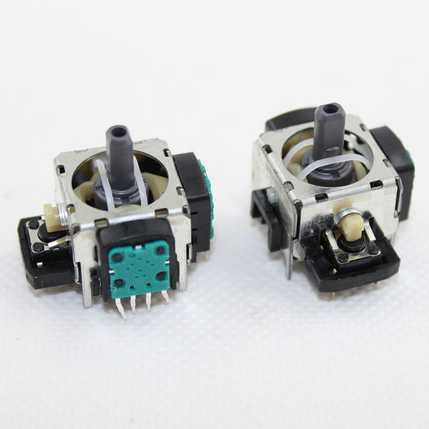 image for 10pcs 4-Pin Analog Stick Button Replacement Toggle Switch For Sony PS3
