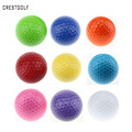 6pcs lot Assorted Color Mini Golf Balls Colorful Golf Practice Balls Training Golf Pelotas