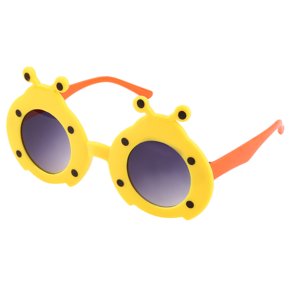 Fashion Cartoon character Animal Cute Glasses Girls Boys Kids Sunglasses Anti-UV Plastic Frame Hot Selling