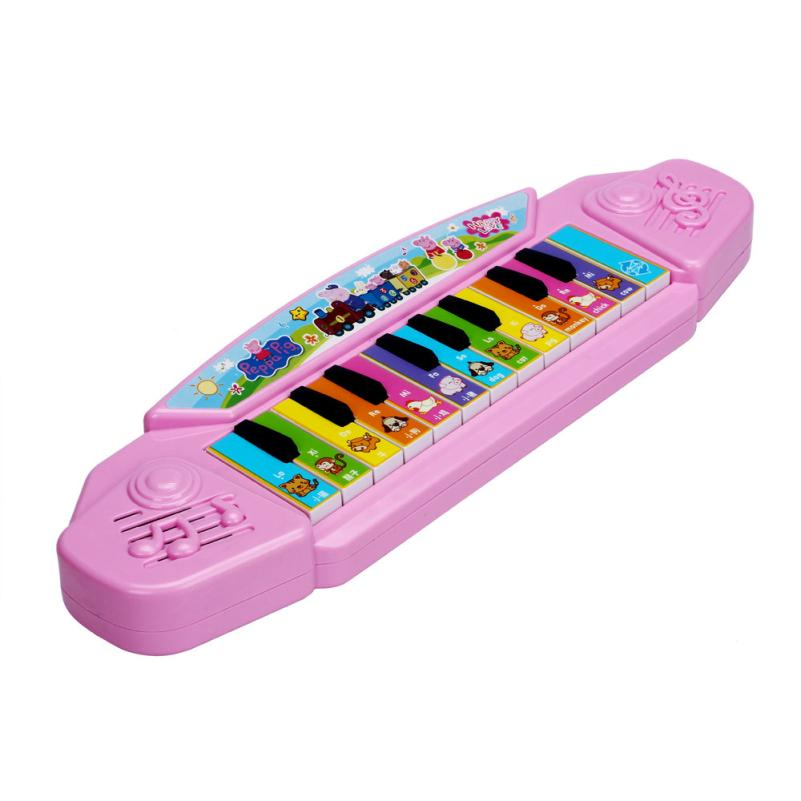JECKSION Baby Kids Musical Educational Animal Farm Piano Developmental Music Toy(China (Mainland))