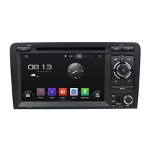 Quad Core HD 1024*600 16GB Android 5.1.1 Car DVD Player Radio GPS Navi Stereo for Audi A3 S3 RS3 2002 2003 2004 2005 2006-2011