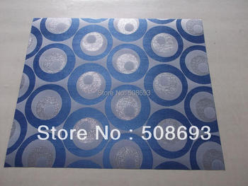 FREE SHIPPING,2014 african sego head tie,High quality Gele,royal blue color headtie,circle design wholesale price