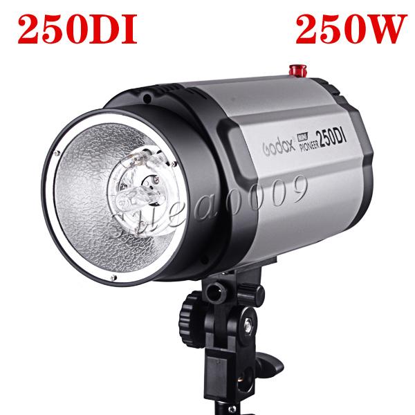 PRO 250W 250Ws GODOX Studio Photography Strobe Flash Light Head 250DI<br><br>Aliexpress