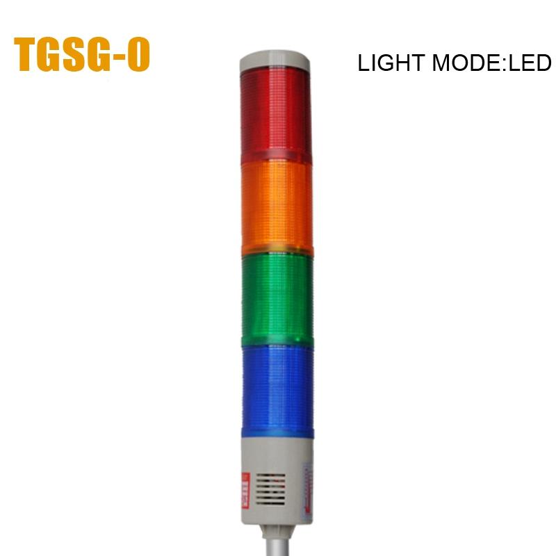 LTA-505 DC24V 4 Layers LED signal warning tower light(China (Mainland))