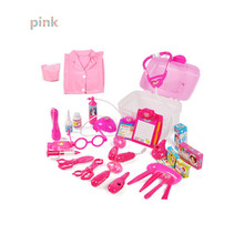 Hot 27 Pcs/Set Doctor Toy Kit with Clothes,New Style Medical Toy Children's Educational Toys Two Colors for Choice(China (Mainland))