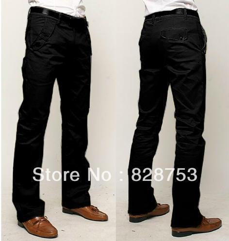 new style Men's casual pants shade cloth cotton slim mens size 28~33, 3 colors - Online Store 828753 store