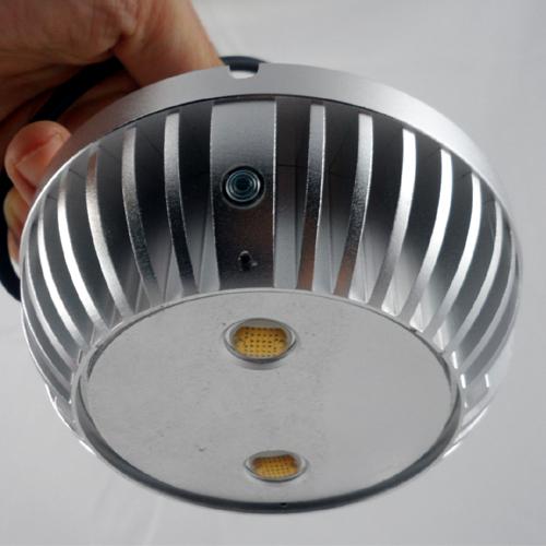 2.5 Inch Indoor infrared light source 850nm interior lights LED Light silvrey Duai-Array IR Dome Illuminator for camera(China (Mainland))