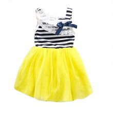 Summer Style fashion  baby girl ball gown dress lace+cotton material 3 colors 0-2Y  (China (Mainland))