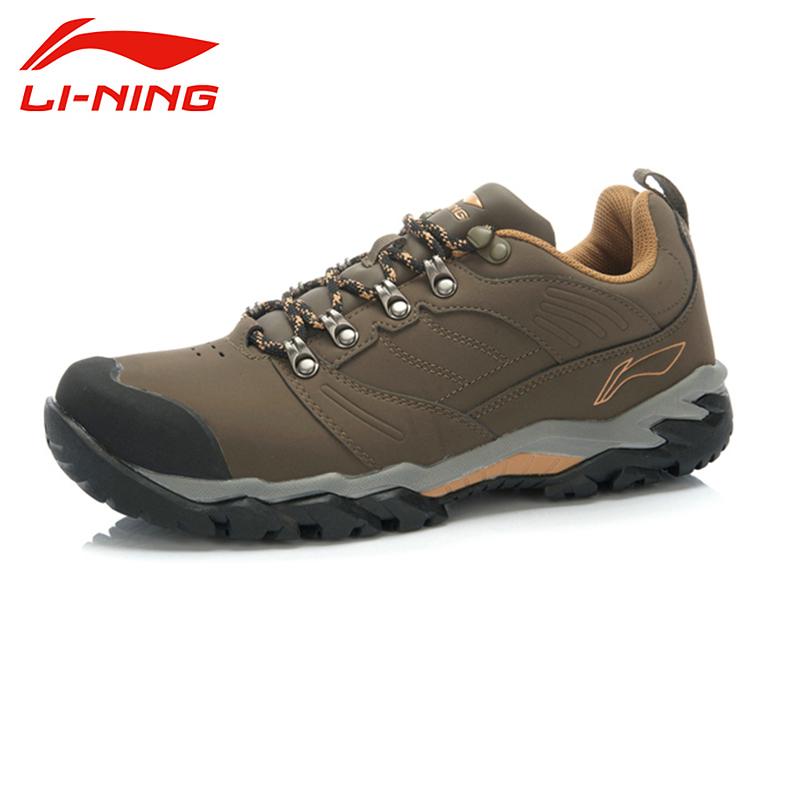 LI-NING Outdoor New Autumn Skidproof Durable Fahion Sports Pavtrac Hiking Climbing Trekking Walking Shoes For Men AHTJ043 XYD063