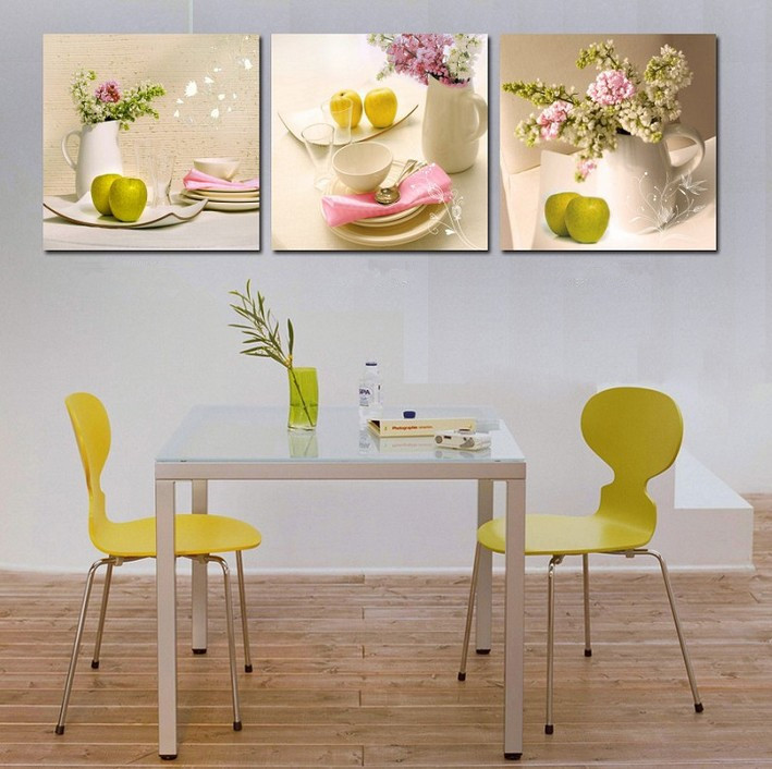 Free Shipping Home Decor Wall Art Dining Room Wall Pictures Art Painting Art