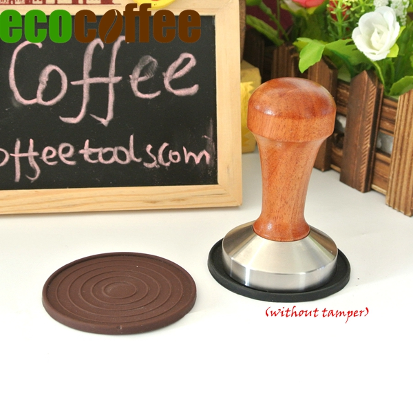 Free Shipping Coffee Tamper mat  Silicone Tamper Mat  (without tamper)