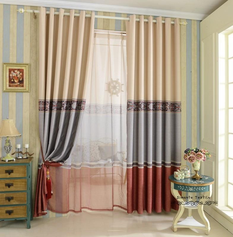 фото модные шторы и тюль