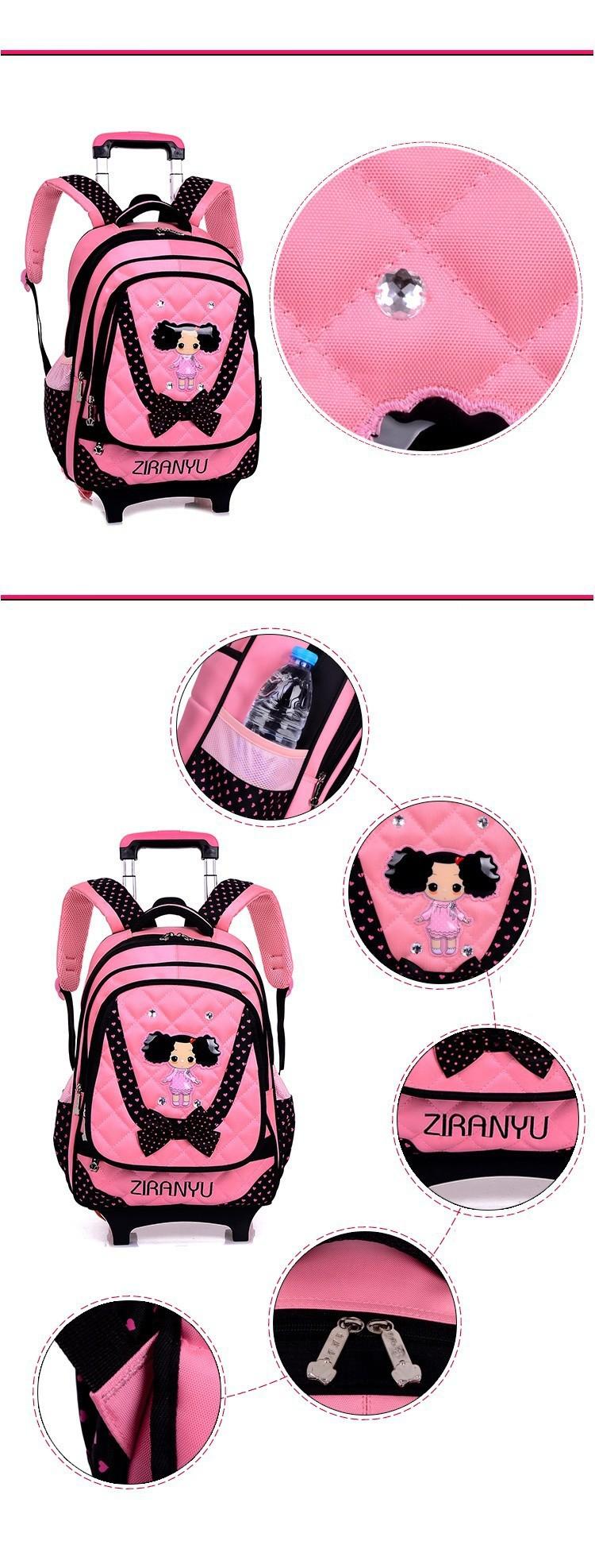 kids-wheeled-school-backpack-children-school-trolley-backpack-carton-pattern-rolling-luggage-kids-detachable-and-orthopedic-2