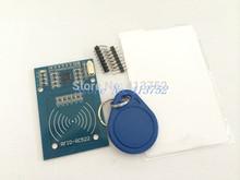 MFRC-522 RC522 RFID RF IC card sensor module to send S50 Fudan card, keychain for arduino(China (Mainland))
