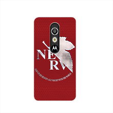 17292 NEON GENESIS EVANGELION cell phone case cover for For Motorola Moto G3 G4 X+1 PLAY PLUS ONE style