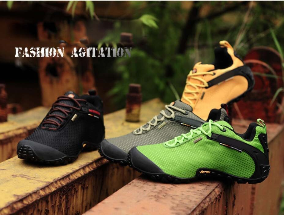 FREE SHIPPING!2015 Newest men and women sport anti-skid mountain climbing boots athletic shoes merrells breathable hiking shoes(China (Mainland))