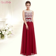 Prom Dresses HE08429 2016 New Arrival Women Sleeveless Ever Pretty Long Sexy Plus Size Prom Dresses(China (Mainland))