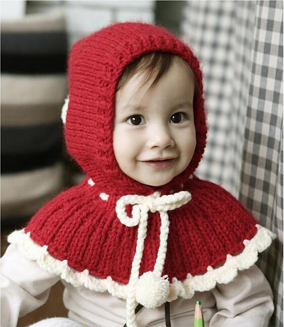 fashion hotselling style cute  Hat  Cap Children Beanie  Toddlers Cloak<br><br>Aliexpress