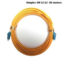 LC-LC fiber connectors patchcord Optical jumper FTTH single mode Simplex 30 meters LC/UPC-LC/UPC-SM-2.0-30m - fmcomm Store store