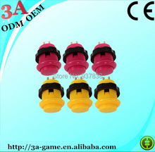Wholesale Cheap Arcade Game Machine Parts Arcade Buttons(China (Mainland))