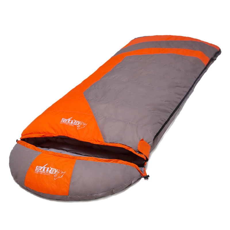 Ultralight Camping Climbing sleeping bag Envelope white duck down winter sleeping bags Goose down sleeping pad L-LXZQJ-16(China (Mainland))