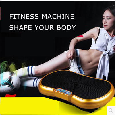 free shipping household fitness equipmemt, machine weight loss vibrator, crazy fit massage vibration machine,(China (Mainland))
