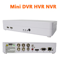 Hybrid DVR 4 channel full d1 960h home security cctv dvrs 4ch stand alone support ONVIF
