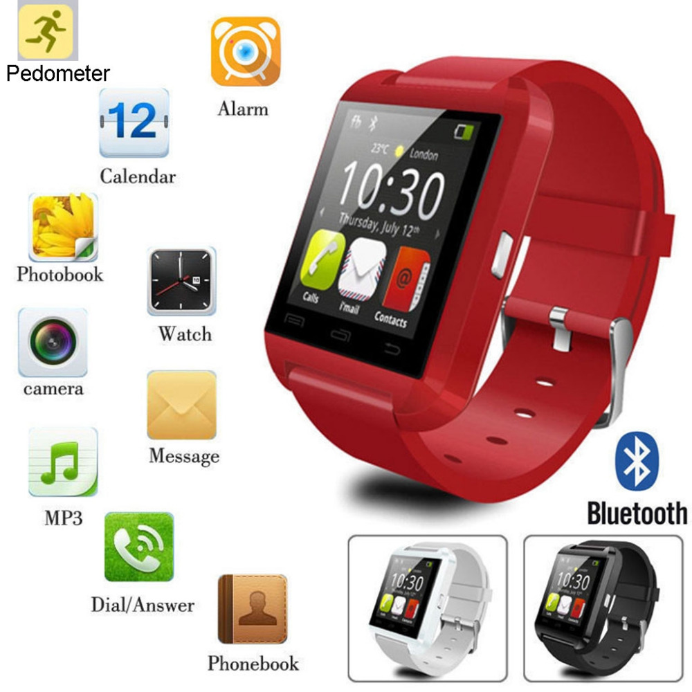 U8 Bluetooth Smart Watch Phone Mate For iPhone/Android
