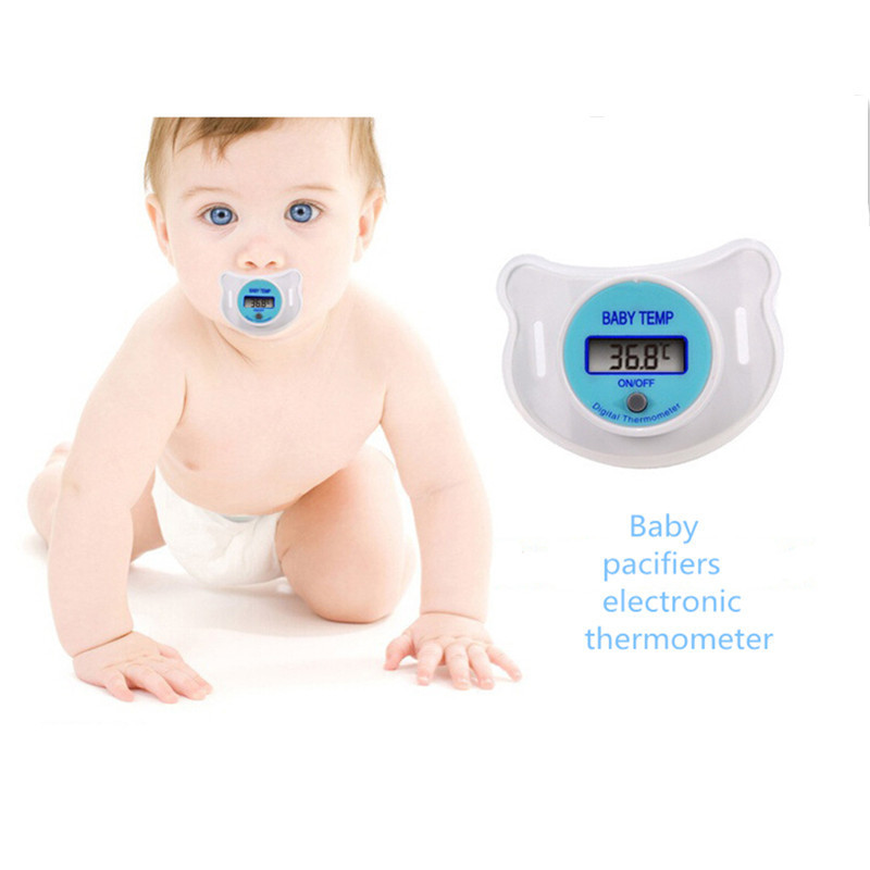 Health monitors Baby Nipple thermometer termometro baby Pacifier Digital Mouth Nipple Pacifier JYT027(China (Mainland))
