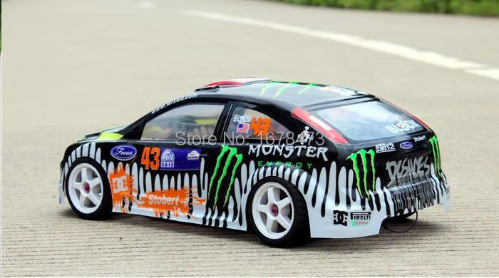 S051 1/10 1:10 PVC painted body shell for 1/10 RC hobby racing car 2pcs/lot free shipping(China (Mainland))