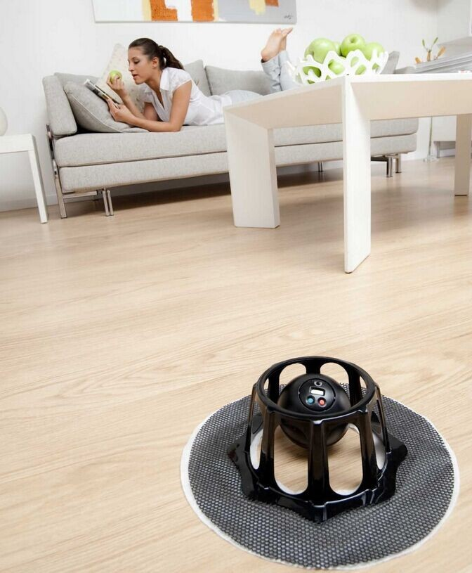 Automatic Floor Dusting Robot Softbase Sweeper cleaner Duster Mop Mini Sweeping Machine Clean Dust YB073-SZ(China (Mainland))